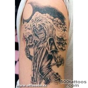 EDDIE   IRON MAIDEN TATTOO   KILLERS  photo page   everystockphoto_18
