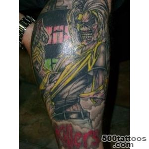 Iron Maiden   Killers (EDDIE) by JED HILL, Ballarat – Tattoo _9JPG