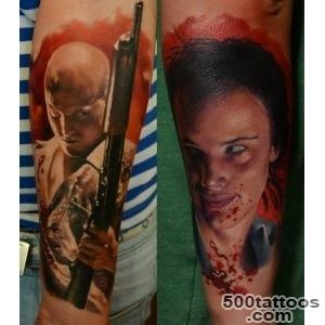 Pin Mickey And Mallory Knox Natural Born Killers Tattoo Pictures _49