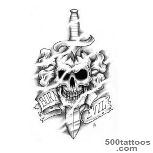 Knife Tattoo Designs Ideas Meanings Images