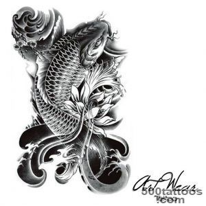 Koi Carp Tattoo Designs Ideas Meanings Images