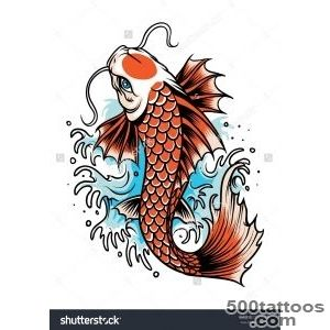 Koi Fish Tattoo Stock Photos, Images, amp Pictures  Shutterstock_49