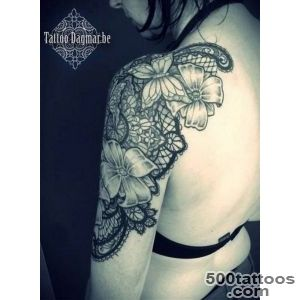 30+ Lace Tattoo Designs for Women   For Creative Juice_16