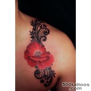 45+ Lace Tattoos for Women  Art and Design_29