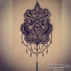 Lace tattoo sketch  ideas  drawings by   Ranz  Pinterest  Lace _42