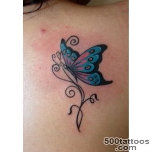 Butterflies-on-back-ladies-tattoo_15jpg