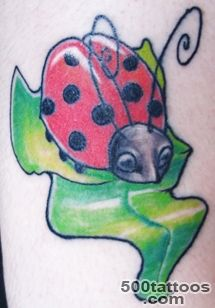 Ladybug Tattoo Designs, Pictures and Artwork_49