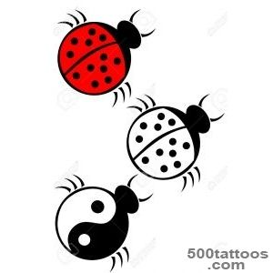 Ladybug Tattoo Stock Vector Illustration And Royalty Free Ladybug _42