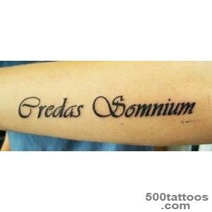 Latin Lettering Tattoo  Tattoobitecom_30