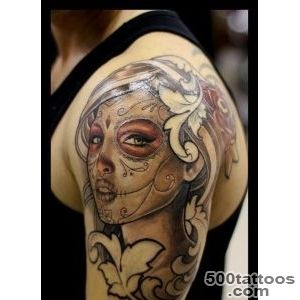 Latino Banner Tattoo On Collarbone Tattoo For Men_12