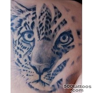 Leopard tattoo design, idea, image