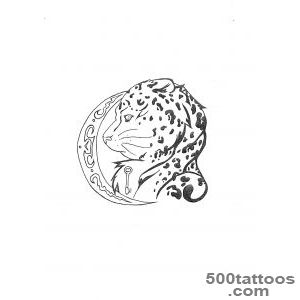 14 Leopard Tattoo Designs and Sketches_36