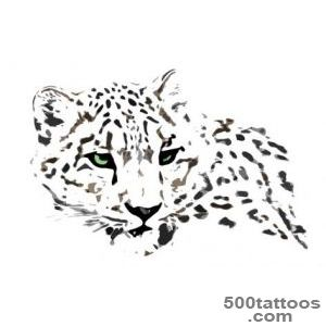 14 Leopard Tattoo Designs and Sketches_46