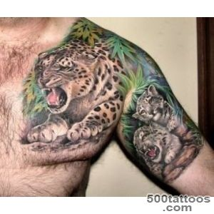leopard tattoo photos ( 19 ) 1000 new ideas tatuirovki_30