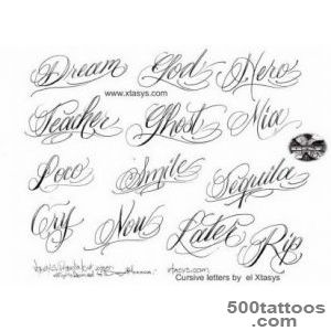 cursive letters for tattoos about tattoo lettering tribal 5423279 _22