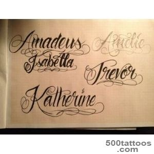 Lettering Tattoos, Designs And Ideas  Page 24_5