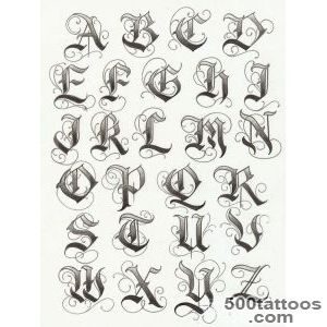 Tattoo Lettering  Fonts and more  Pinterest  Letras _14