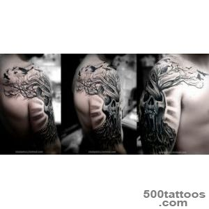 32+ Tree Of Life Tattoos On Sleeve_7