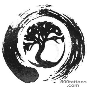 45+ Tree Of Life Tattoo Designs_26