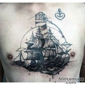100 Lighthouse Tattoo Designs For Men   A Beacon Of Ideas_19