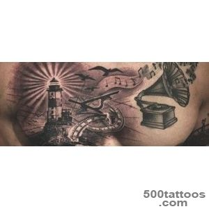 100 Lighthouse Tattoo Designs For Men   A Beacon Of Ideas_26
