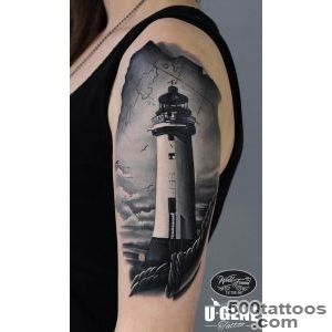 Lighthouse Tattoo  Best tattoo ideas amp designs_39