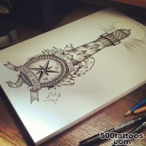 Lighthouse Tattoo Images amp Designs_41