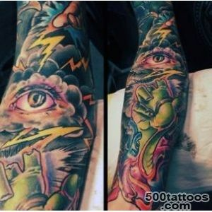 60 Lightning Tattoo Designs For Men   High Voltage Ideas_9