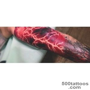60 Lightning Tattoo Designs For Men   High Voltage Ideas_13
