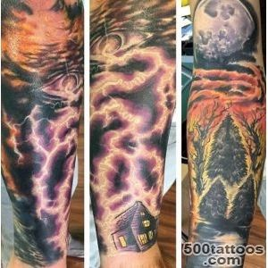 Pin Clouds Lightning Tattoo on Pinterest_38
