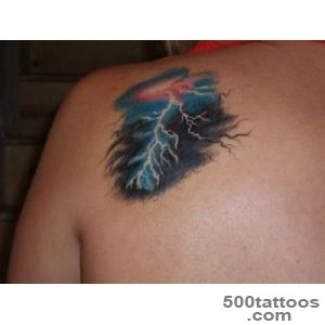 Pin The Black Lightning Bolt Tattoo Designs And Meaning For Men On _24