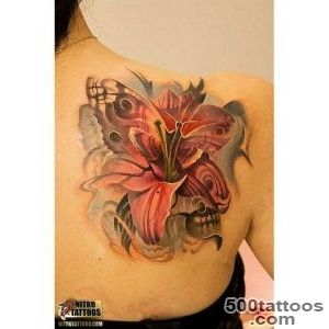 32 Unusual Lily Tattoos Designs_10