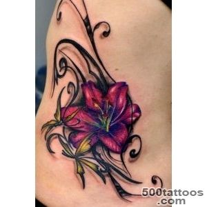38 Lily Flower Tattoo Designs   Pretty Designs_8