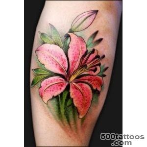55+ Awesome Lily Tattoo Designs  Art and Design_3