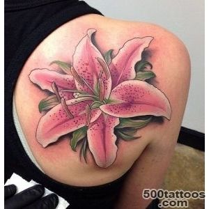 55+ Awesome Lily Tattoo Designs  Art and Design_6