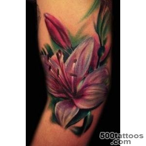 55+ Awesome Lily Tattoo Designs  Art and Design_16
