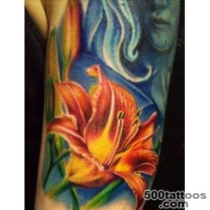 55+ Awesome Lily Tattoo Designs  Art and Design_22