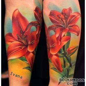 60 Beautiful Lily Tattoo Ideas   nenuno creative_17