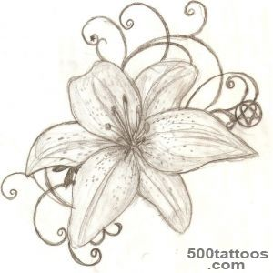 Lily Tattoo Images amp Designs_27