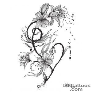 Lily Tattoos, Designs And Ideas  Page 9_43