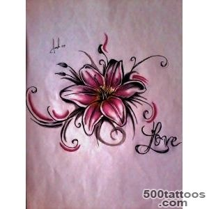 Lily Tattoos, Designs And Ideas  Page 21_45