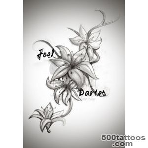Lily Tattoos, Designs And Ideas  Page 55_29