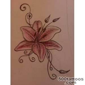 Lily Tattoos Designs, Ideas and Meaning  Tattoos For You_9