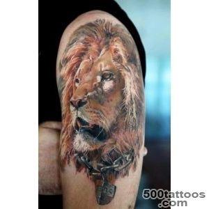 50 Examples of Lion Tattoo  Art and Design_39