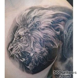 Lion Tattoos for Men   Ideas and image gallery for guys_6