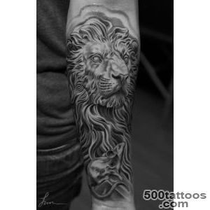 Lion Tattoos for Men   Ideas and image gallery for guys_25