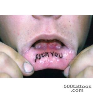 Lip Tattoos, Designs And Ideas  Page 4_6