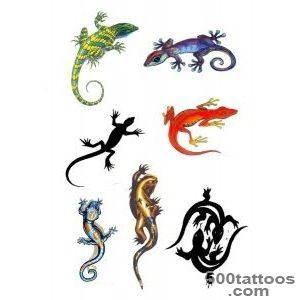 22 Wonderful Lizard Tattoo Designs_14