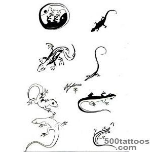 Lizard Tattoos, Designs And Ideas  Page 24_25