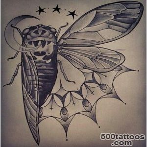 Locust  Tattoo Art Drawings Flash  Pinterest_1